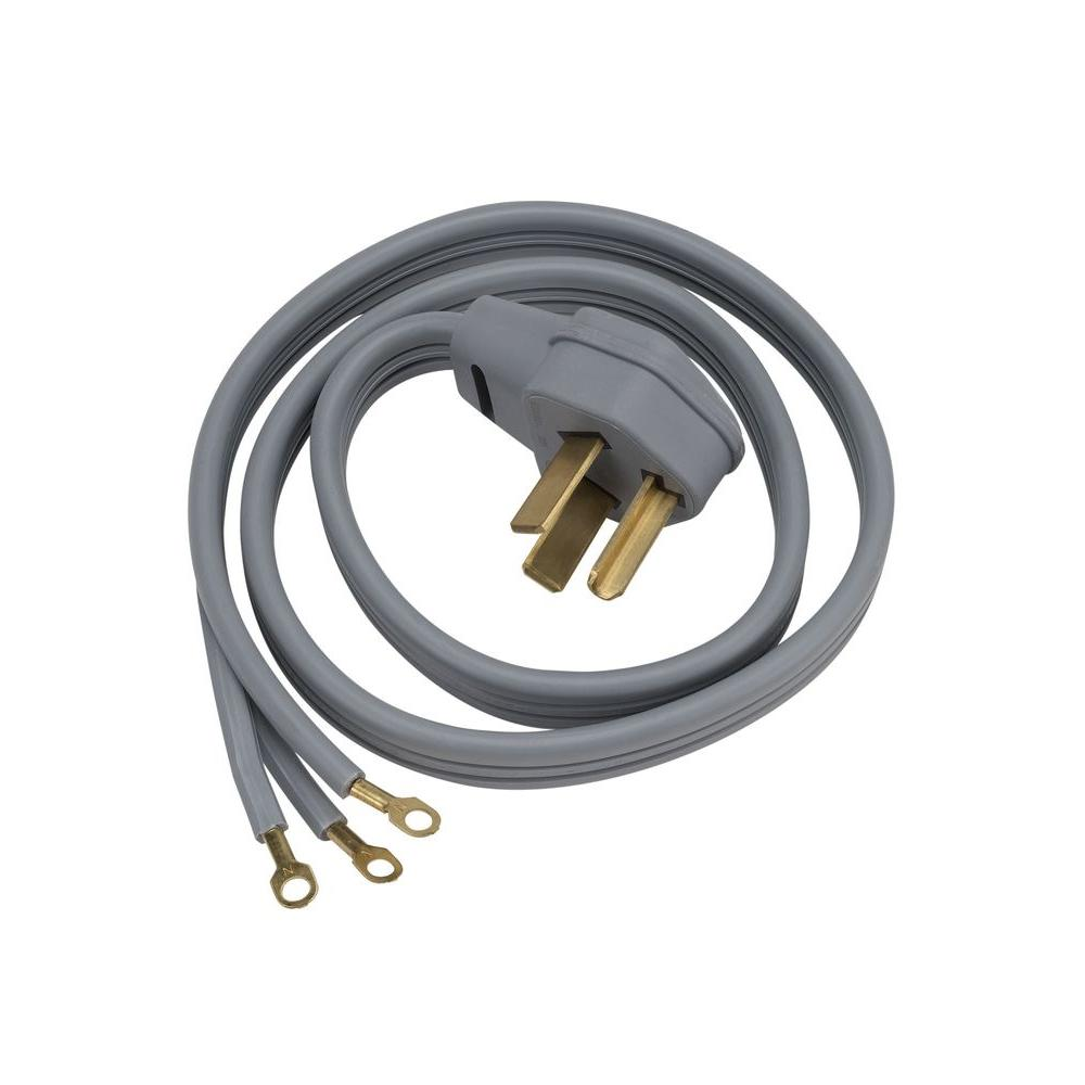 hight resolution of ge 6 ft 3 prong 30 amp dryer cord wx09x10004ds the home depot walmart 3 prong