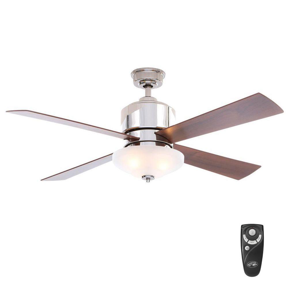 Hampton Bay Garrison 52 in Indoor Gunmetal Ceiling Fan