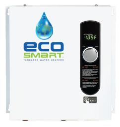 ecosmart 18 kw self modulating 3 5 gpm electric tankless water heater [ 1000 x 1000 Pixel ]