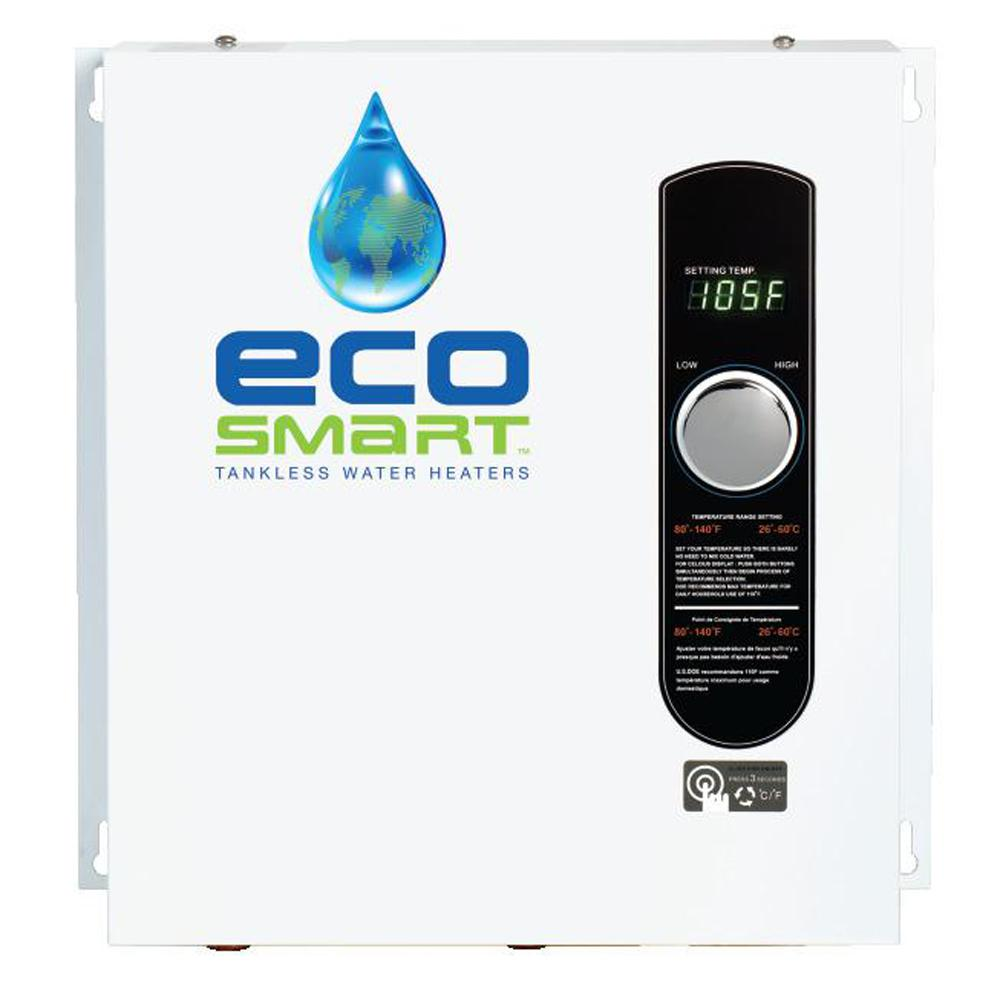 medium resolution of ecosmart 18 kw self modulating 3 5 gpm electric tankless water heater