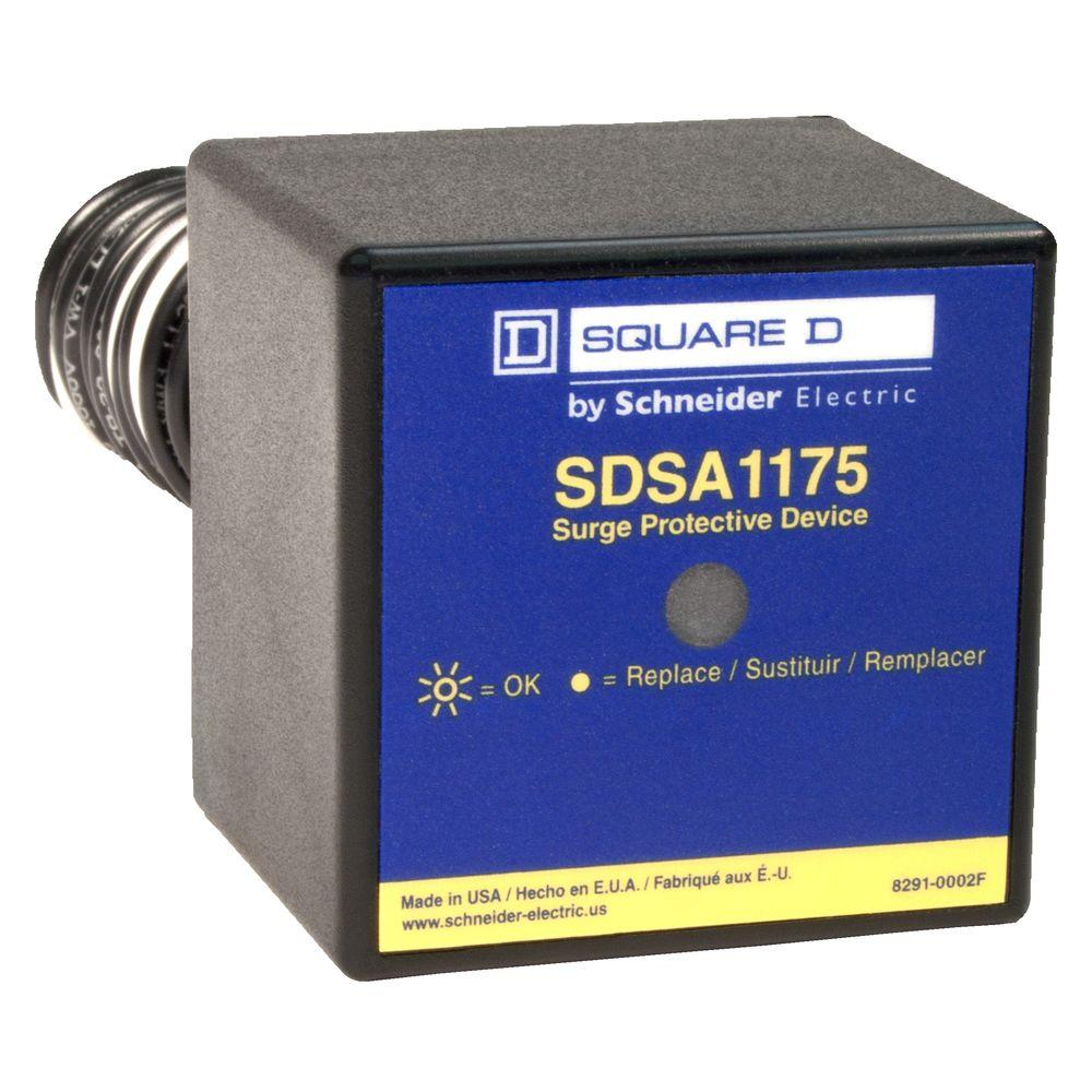 medium resolution of square d 36 ka single phase panel mounted type 1 surge protective device