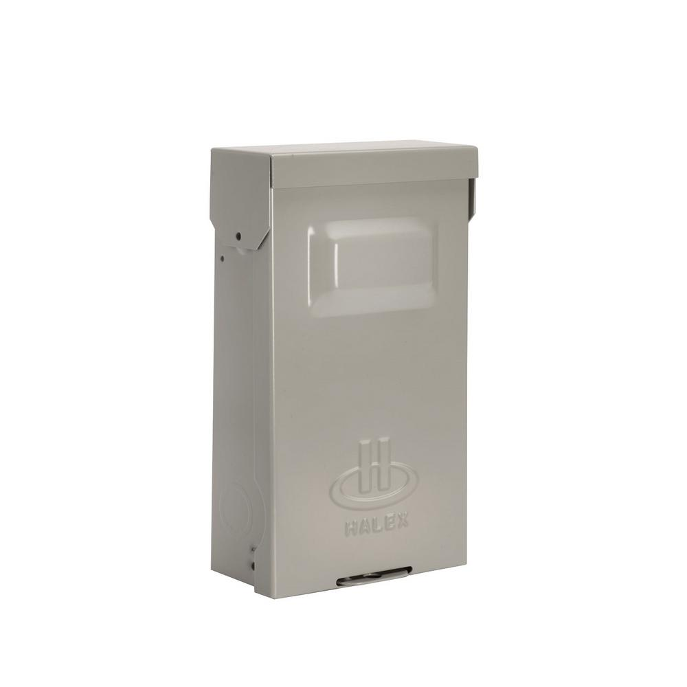 medium resolution of halex 30 amp fused ac pullout disconnect hf30r the home depot 30 amp fuse pull out box