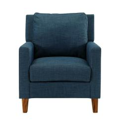 Chair Pillow For Back Slipcovers Australia Walker Edison Furniture Company Blue Accent