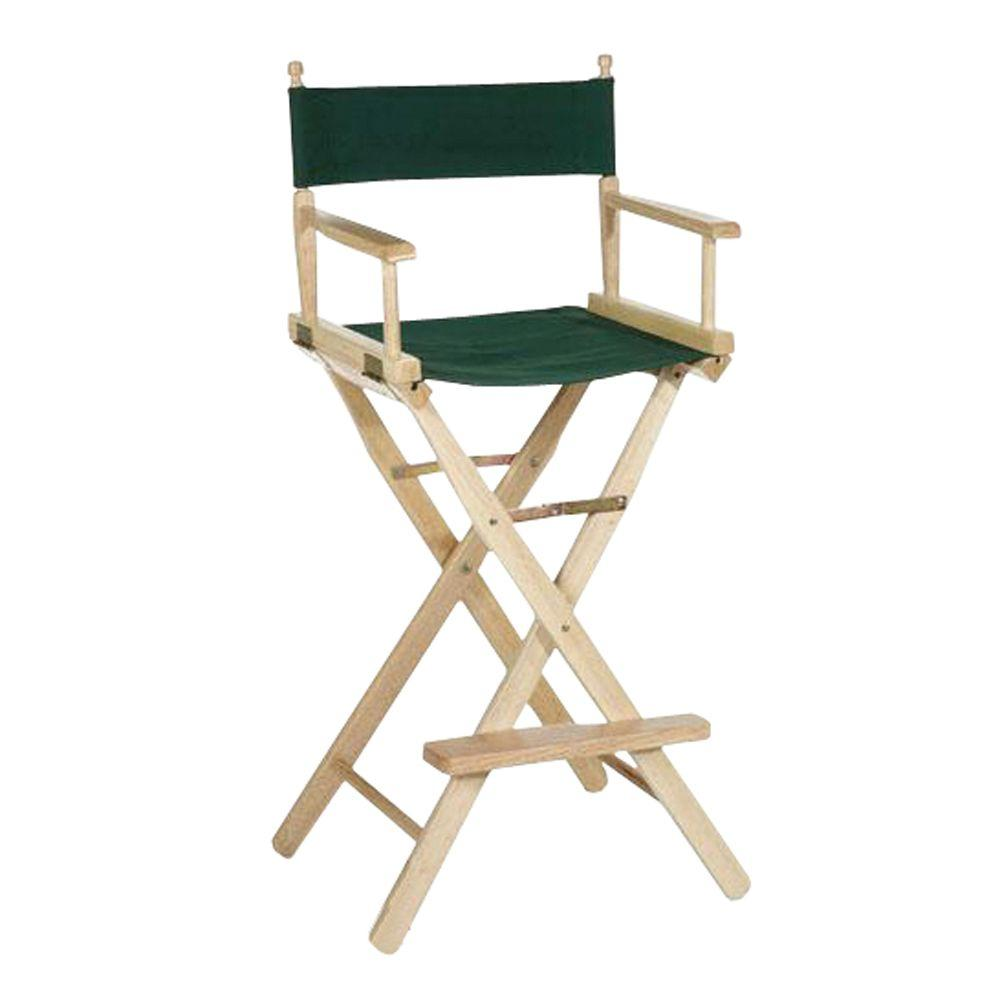 Personalized Directors Chair Casual Home 30 In Director S Chair Natural Solid Wood Frame 230