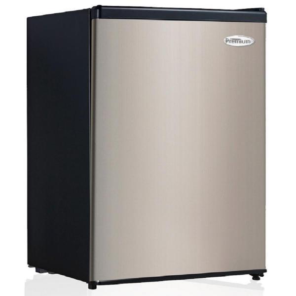 Mini Refrigerator Fridge Beverage Cooler 2.4 Cu. Ft. Black