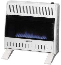 reddy heater 30 000 btu blue flame dual fuel wall heater with blower [ 1000 x 1000 Pixel ]