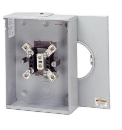 eaton 200 amp ring type single meter socket oh hl and p reliant [ 1000 x 1000 Pixel ]