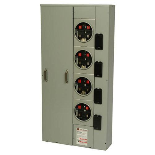small resolution of eaton 125 amp 4 socket ring meter socket