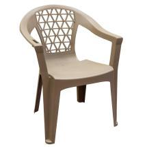 Penza Mushroom Stack Resin Plastic Outdoor Dining Chair