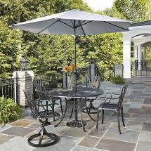 Home Styles Largo 48 In. 5-piece Patio Dining Set With