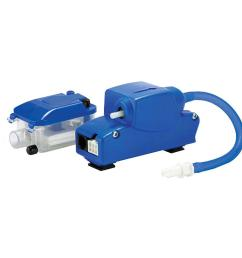 little giant ec 1k 208 230 volt condensate removal pump kit for indoor ductless mini split air conditioner units [ 1000 x 1000 Pixel ]