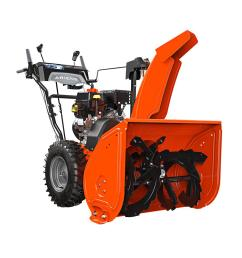 ariens deluxe 28 in 2 stage electric start gas snow blower with auto  [ 1000 x 1000 Pixel ]