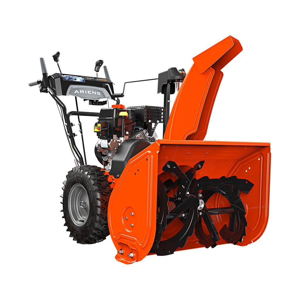hight resolution of ariens deluxe 28 in 2 stage electric start gas snow blower with auto