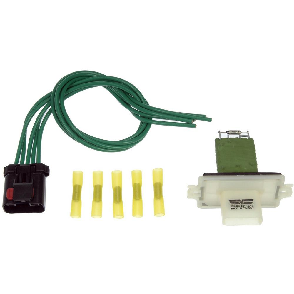 hight resolution of blower motor resistor kit with harness