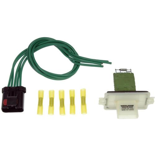 small resolution of blower motor resistor kit with harness