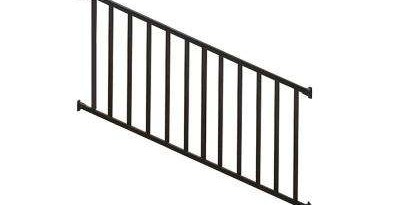 Deck Stair Railings Deck Railings The Home Depot | Home Depot Handrails For Steps | Metal | Pressure Treated | Balusters | Stair Parts | Deck Stair