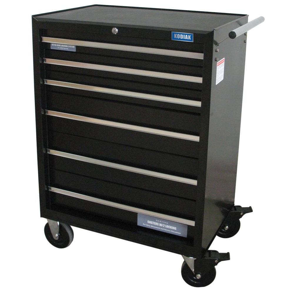 Kodiak Pro 26 in 6Drawer Rolling Tool Cabinet74206