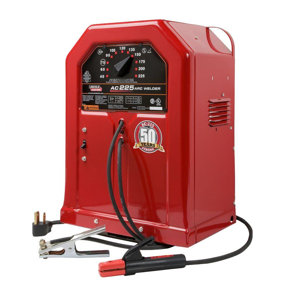 medium resolution of lincoln electric 225 amp arc stick welder ac225s 230v k1170 the rh homedepot com lincoln welder engine wiring diagram lincoln arc welder wiring diagram