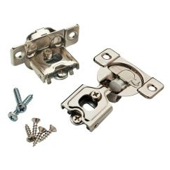 Hinges For Kitchen Cabinets Refurbished Table Cabinet Hardware The Home Depot Overlay Soft Close Hinge