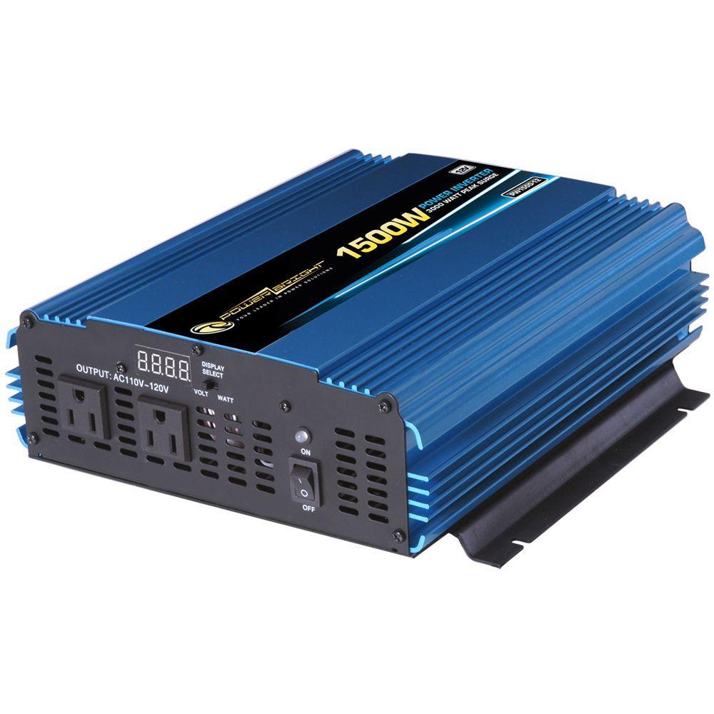 medium resolution of 12 volt dc to ac 1500 watt power inverter
