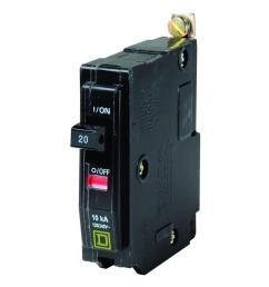 square d qo 20 amp single pole bolt on circuit breaker qob120cp 220 outlet wiring diagram [ 1000 x 1000 Pixel ]