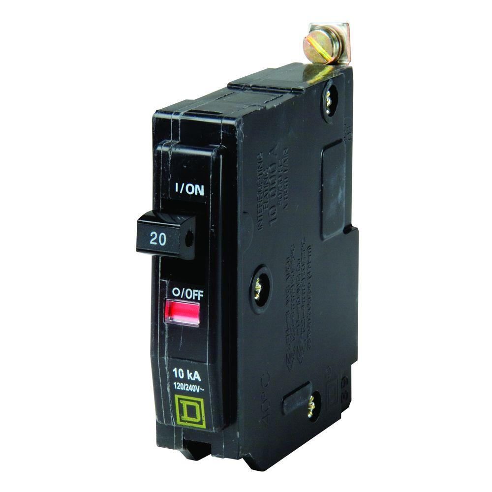 hight resolution of square d qo 20 amp single pole bolt on circuit breaker qob120cp 220 outlet wiring diagram