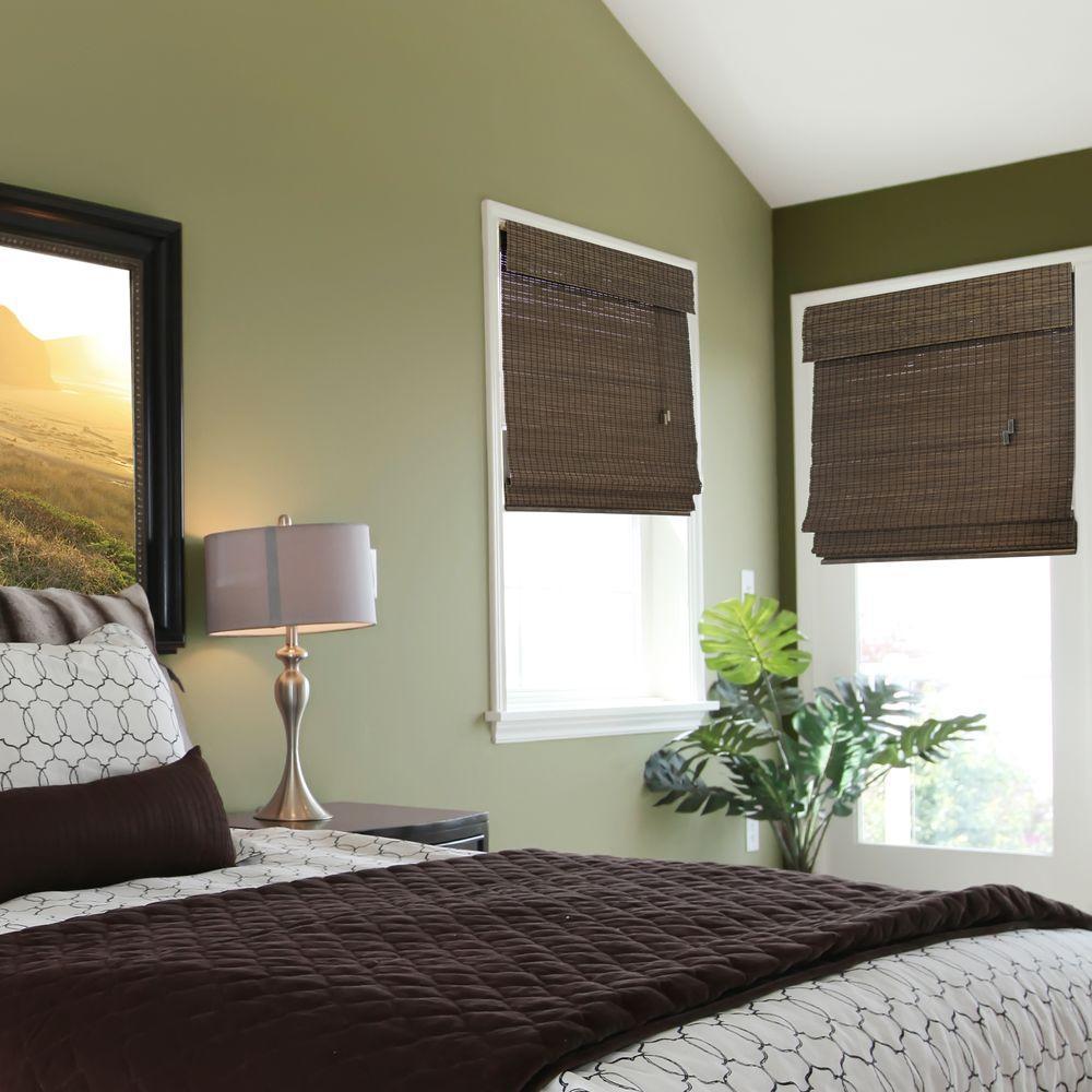Home Decorators Collection Espresso Flatweave Bamboo
