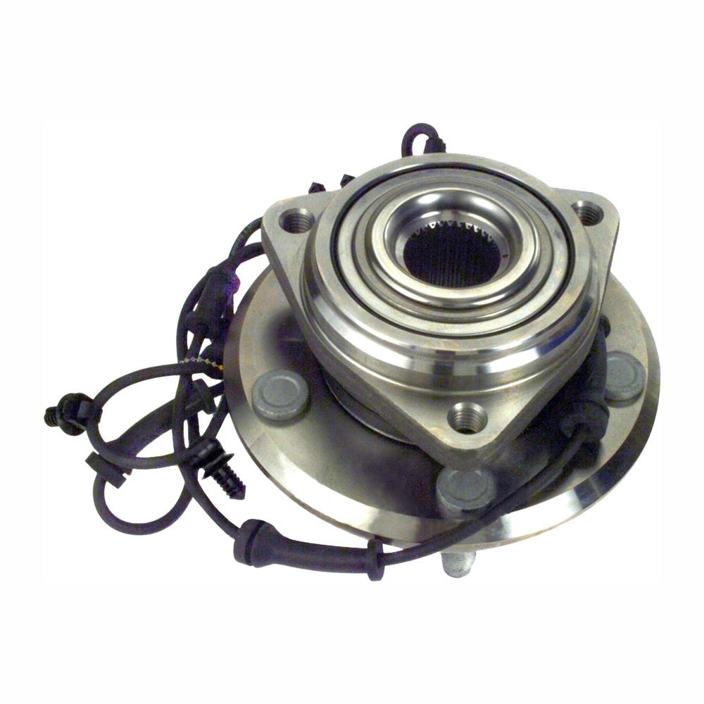 hight resolution of front wheel bearing and hub assembly fits 2012 2015 jeep wrangler