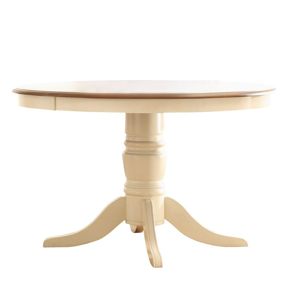 antique kitchen table cabinets shelves homesullivan anna white dining 401393w 48tbl the