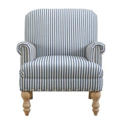 Blue And White Striped Chair Target Dorm Lounge Dorel Joy Accent Fh7902 Bl The Home Depot
