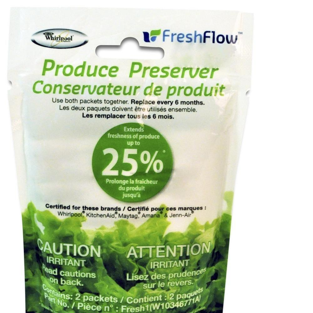 hight resolution of fresh flow produce preserver replacement
