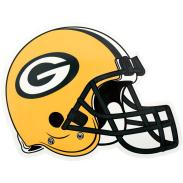 Applied Icon NFL Green Bay Packers Outdoor Helmet Graphic- Small-NFOH1201 - The Home Depot