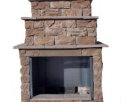 outdoor fireplaces kits