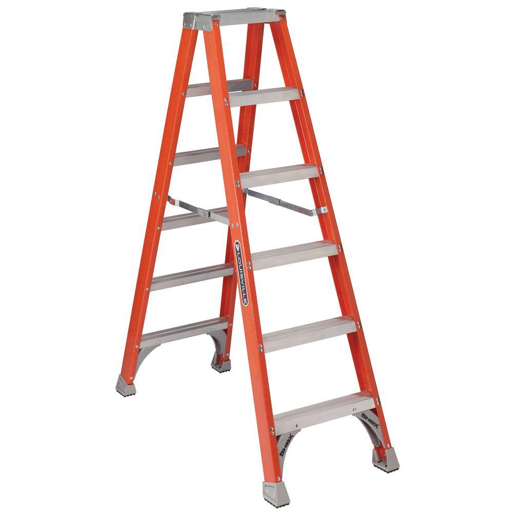 louisville ladder 6 ft