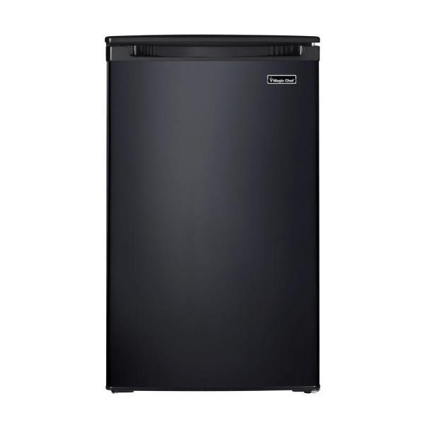 Magic Chef 4.4 Cu. Ft. Mini Refrigerator In Black-hmar440be - Home Depot