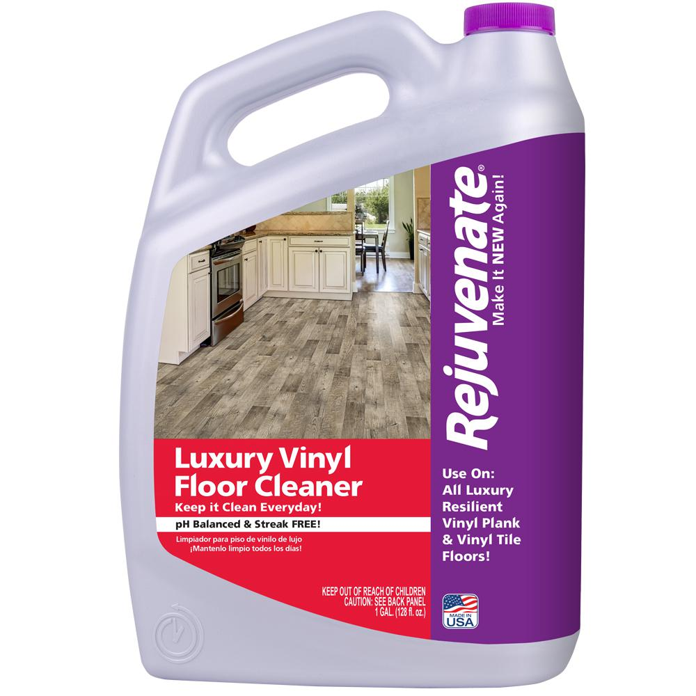 Rejuvenate 128 oz Luxury Vinyl Floor CleanerRJ128LVFC