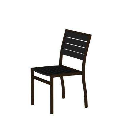 black patio chairs girls office chair bronze outdoor dining the home depot