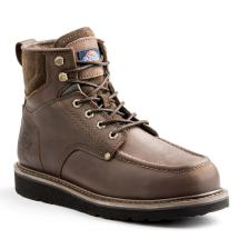 Dickies Outpost Men Size 9.5 Brown Leather Work Boot