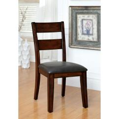 Cottage Style Chairs Fishing Chair With Umbrella Holder Dickinson I Dark Cherry Side Cm3187sc 2pk The Home Depot
