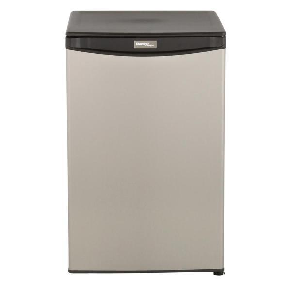 Stainless Steel Danby Mini Refrigerator
