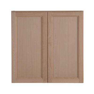 cheap unfinished kitchen cabinets mats costco wood the home depot easthaven wall cabinet in german beech