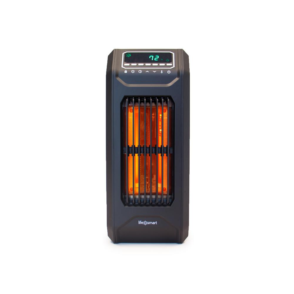 medium resolution of 3 wrapped element infrared portable vertical tall heater