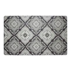 Memory Foam Kitchen Rug Delta Lewiston Faucet Laura Ashley Allie Gray 20 In X 32 Mat