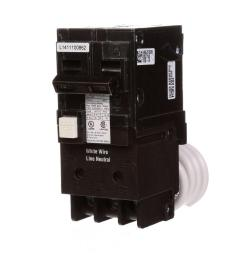 siemens 15 amp double pole type qpf2 gfci circuit breaker [ 1000 x 1000 Pixel ]