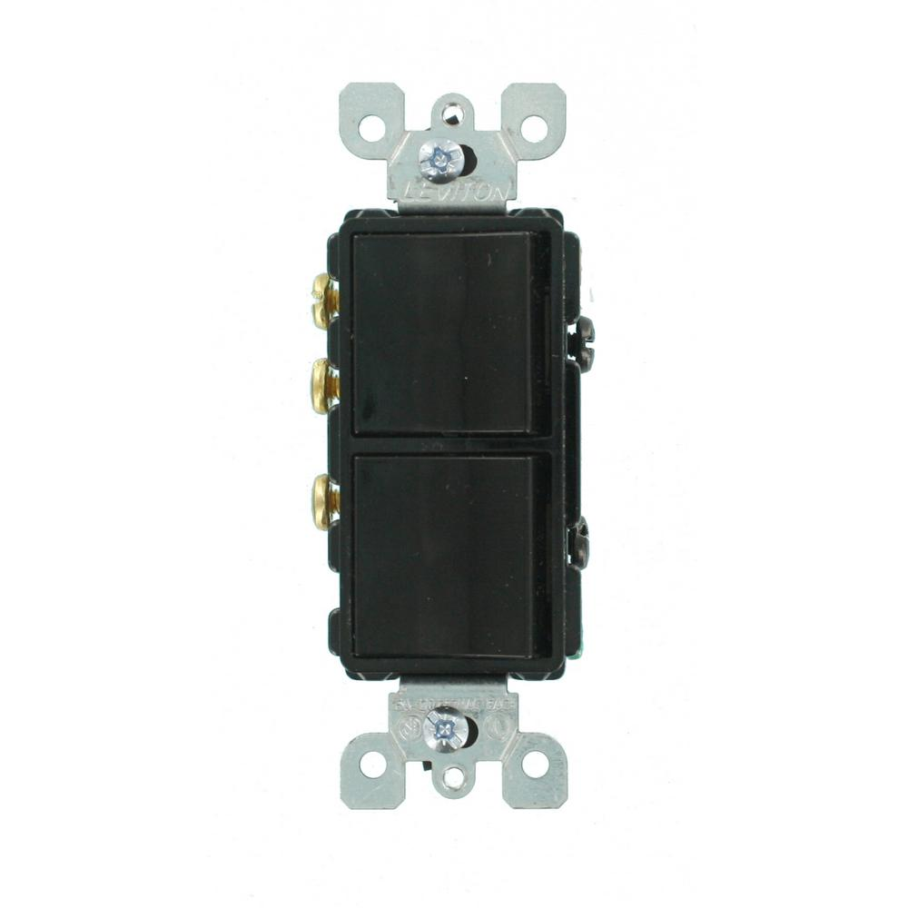 Three Way Switch Black Screw