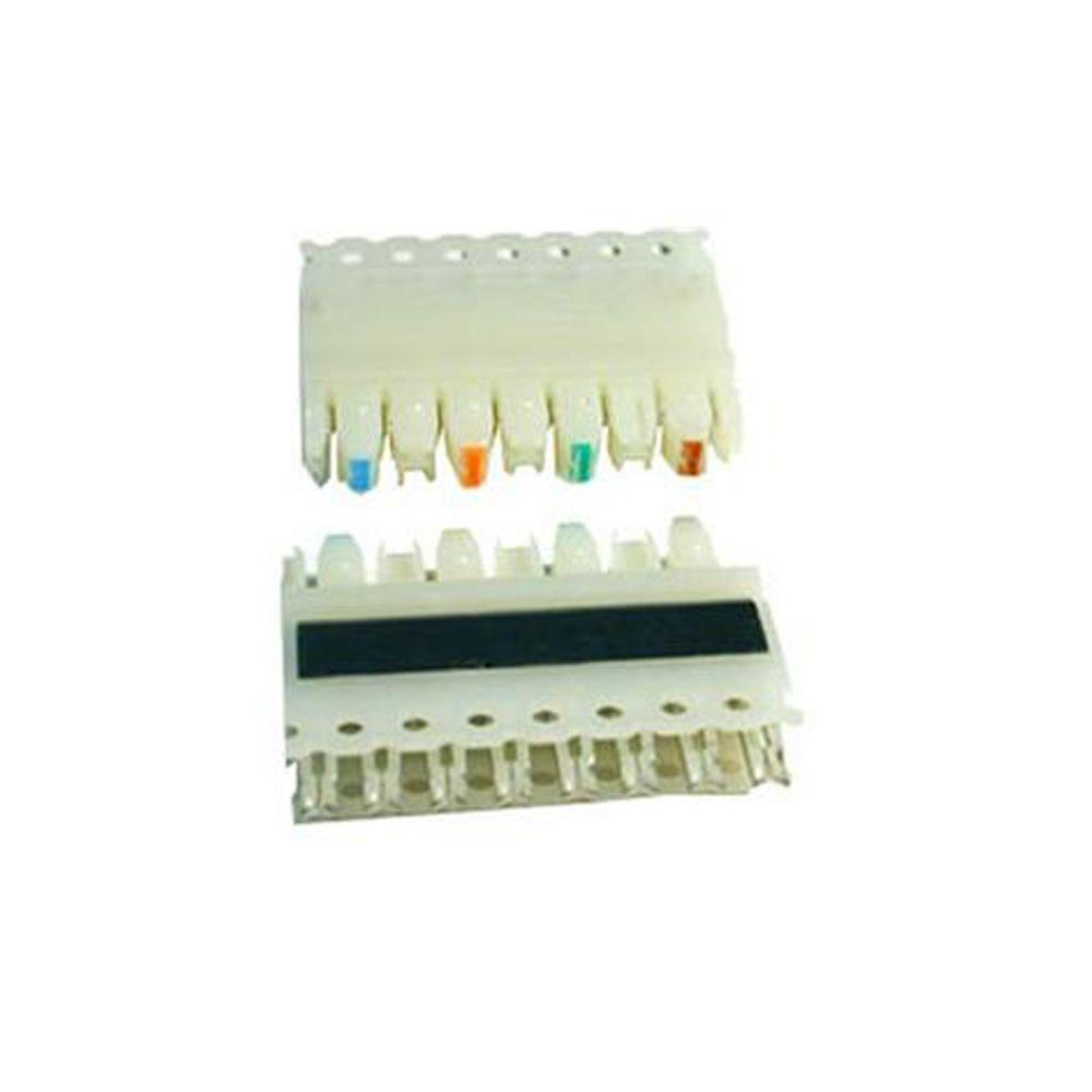 medium resolution of icc 110 connecting block icc ic110cb5pc the home depot rh homedepot com wire terminal blocks 110