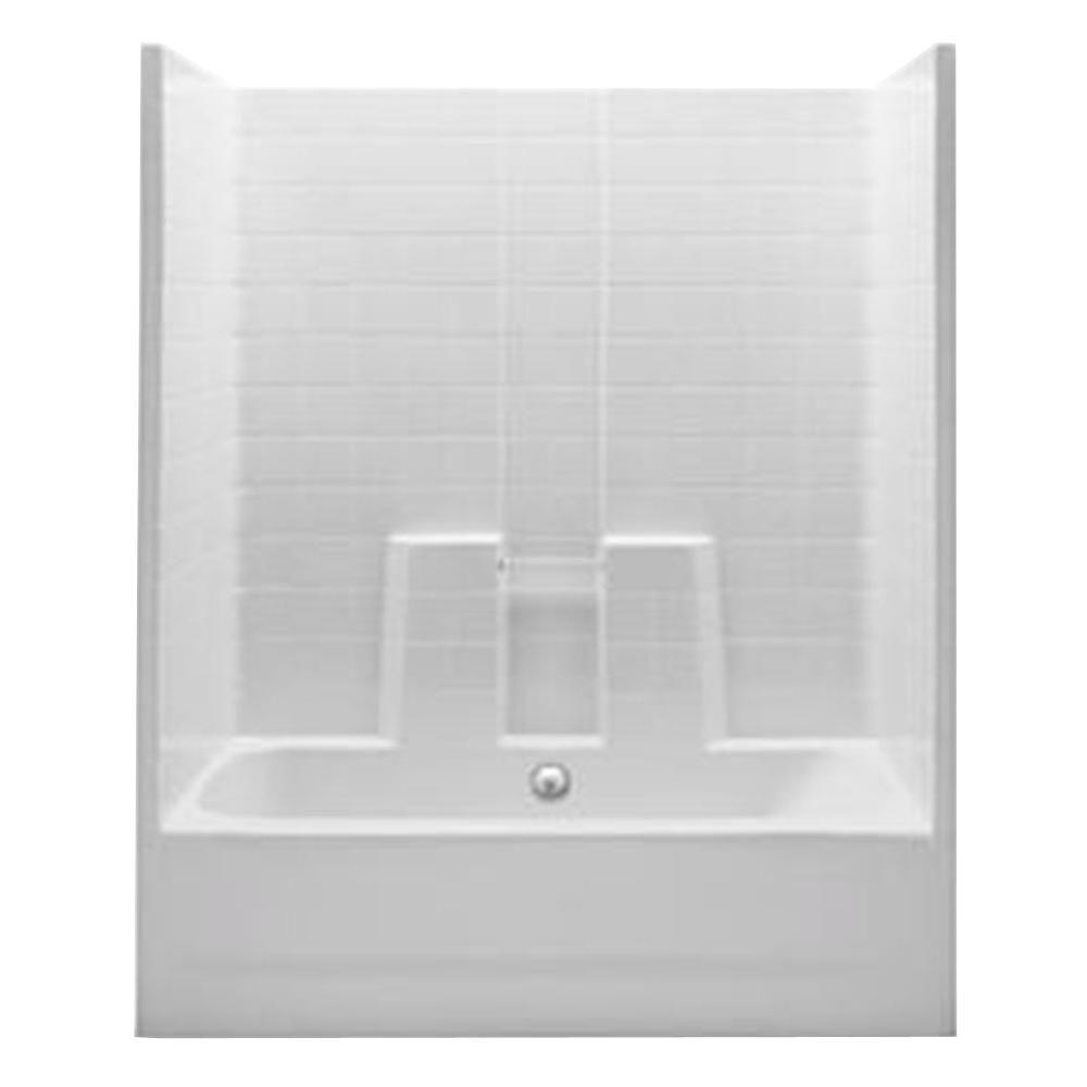 Bathtub Amp Shower Combos Bathtubs The Home Depot