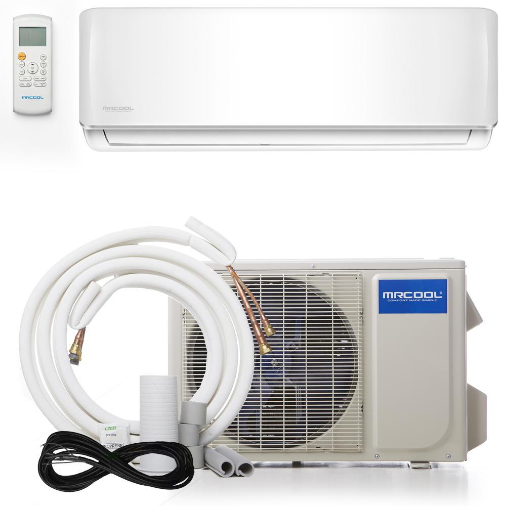 medium resolution of advantage 18 000 btu 1 5 ton ductless mini split air conditioner and