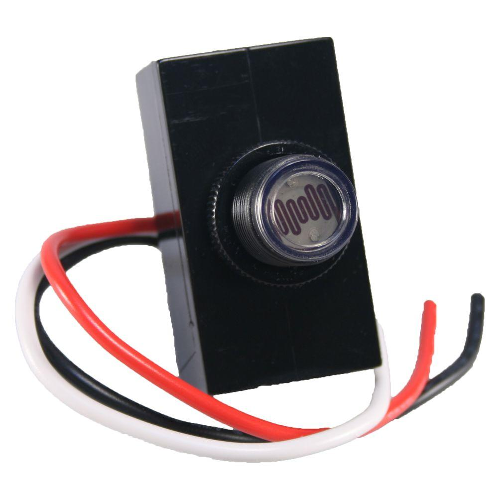 external photocell switch wiring diagram funny exercise defiant 1800 watt outdoor post mount button dusk to dawn black
