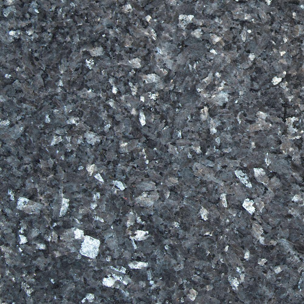 MSI Blue Pearl 12 in x 12 in Polished Granite Wall Tile